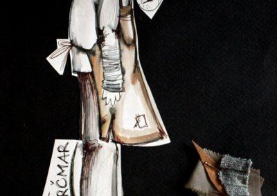 "2. ""Srebrnjak"", NP ""Toša Jovanović"", 2007, režija-Biljana Vujović, lutke-Blagovesta Vasileva"