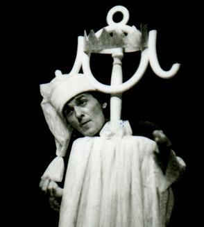 """2. A. Ilkov """"Čika Bajkine bajke"""", Pozorište mladih, 1975, režija-Atanas Ilkov, kreacija lutaka-Iva Hadžijeva, scenografija-Boris Čerškov"""