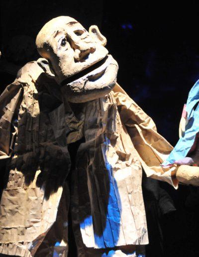 "2. A. de Sent Egziperi ""Mali princ"", Pozorište lutaka Niš, 2008, režija i scenografija-Zoran Lozančić, lutke-Erika Kanjo Janovič"