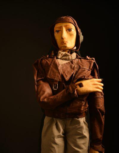 "2. A. de Sent Egziperi ""Mali princ"", Pozorište mladih, Novi Sad, 1996, režija-Ferid Karajica, kreacija lutaka-Tihomir Mačković, kostimi-Mirjana Đurić"