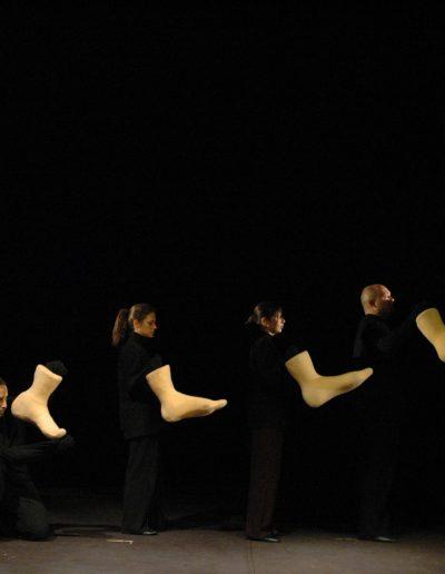 "D. Todorović ""Korak po korak"", režija- Dragoslav Todorović, lutke- Jelena Milić Zlatković, LS NP ""Toša Jovanović"", Zrenjanin, 2007."