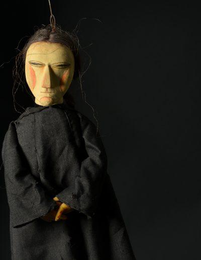 """2. M. de Servantes """"Don Kihot"""", Dečje pozorište Subotica, 1998, režija- Tibor Čizmadija, lutke- Ana Kiralj"""